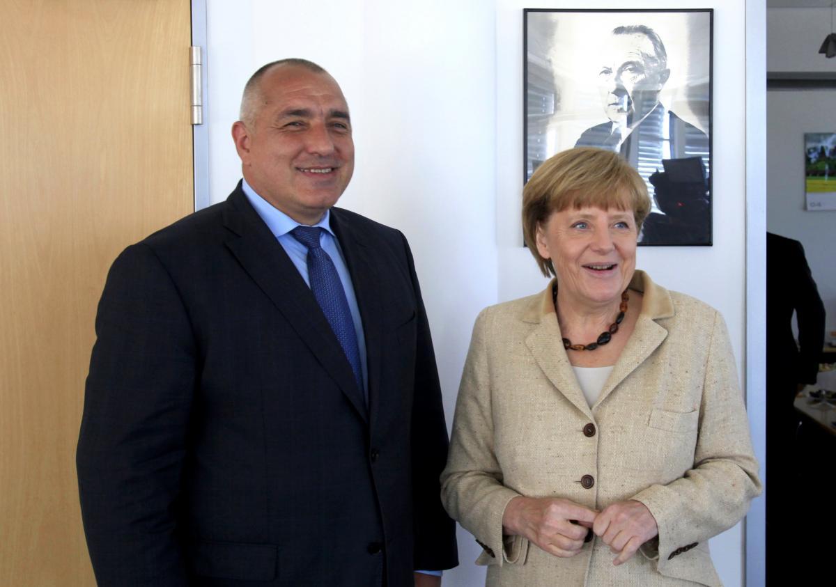 Резултат с изображение за борисов меркел